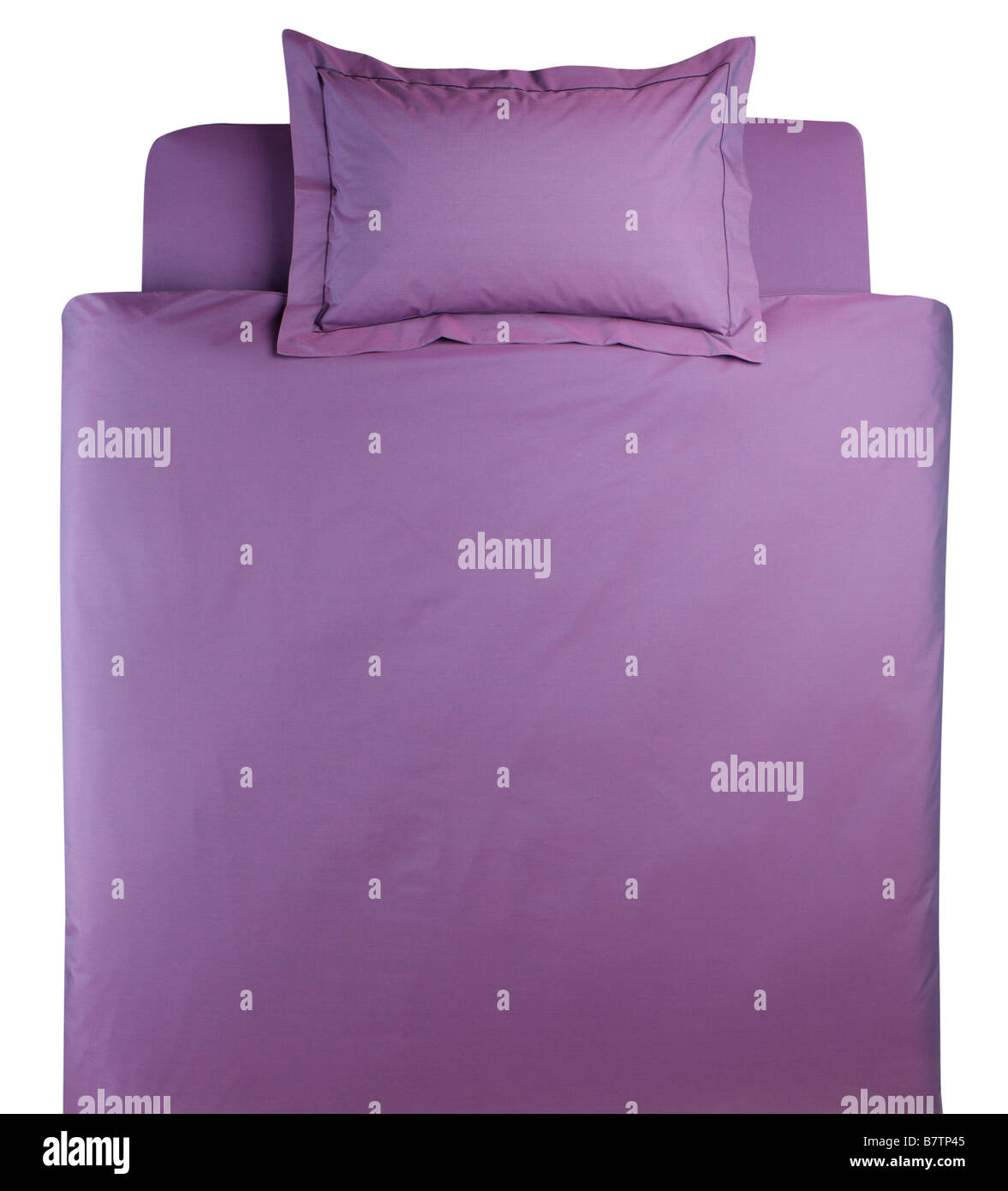 Bed linen - Stock Image