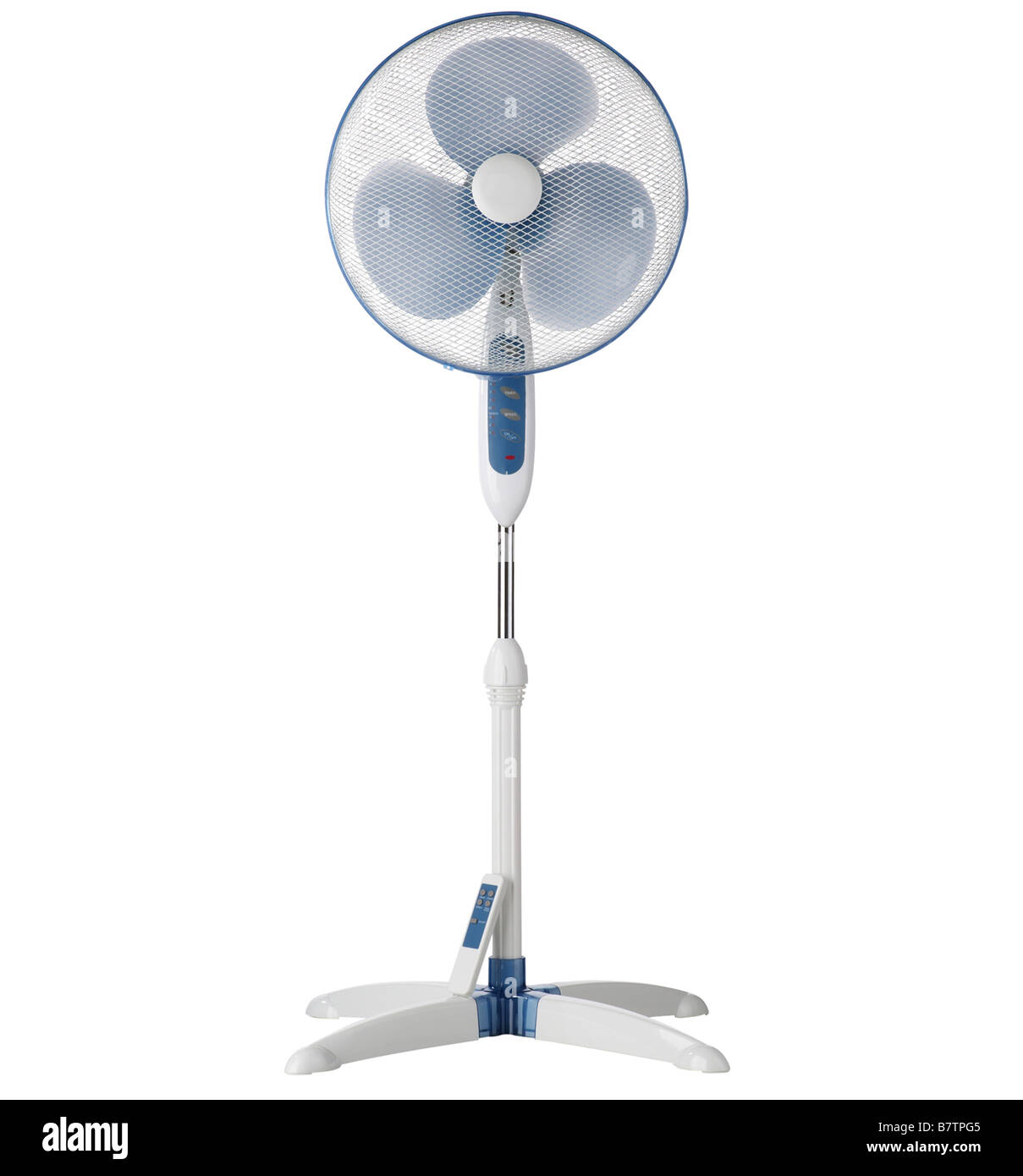 Floor standing fan - Stock Image