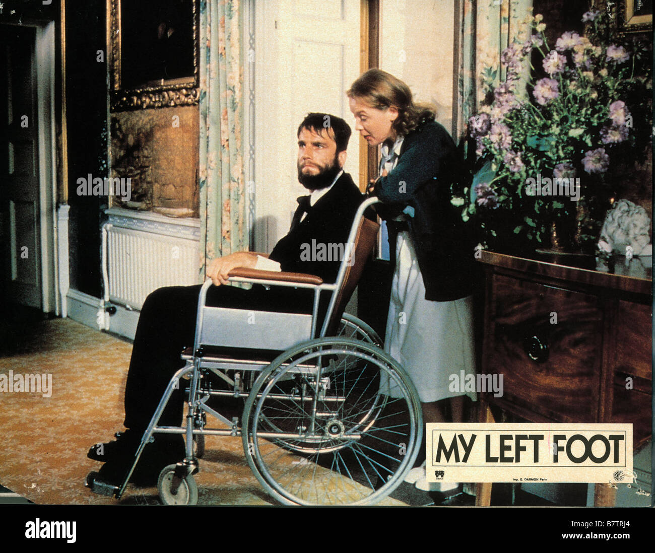 My Left Foot The Story Of Christy Brown Year 1989 Ireland Uk Daniel Day Lewis Ruth Mccabe Director Jim Sheridan