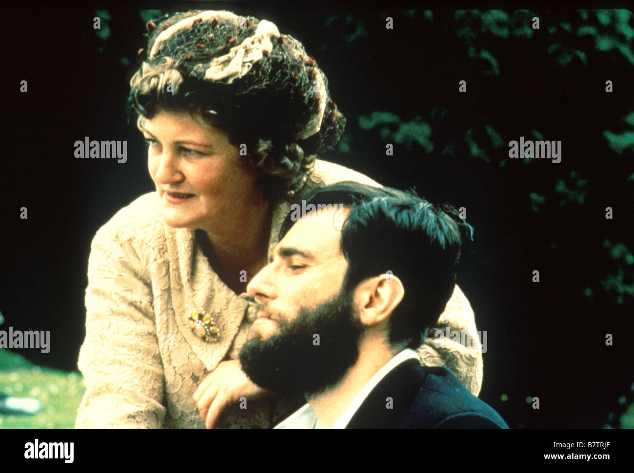 My Left Foot: The Story of Christy Brown  Year: 1989 - Ireland / UK Brenda Fricker , Daniel Day-Lewis  Director: - Stock Image