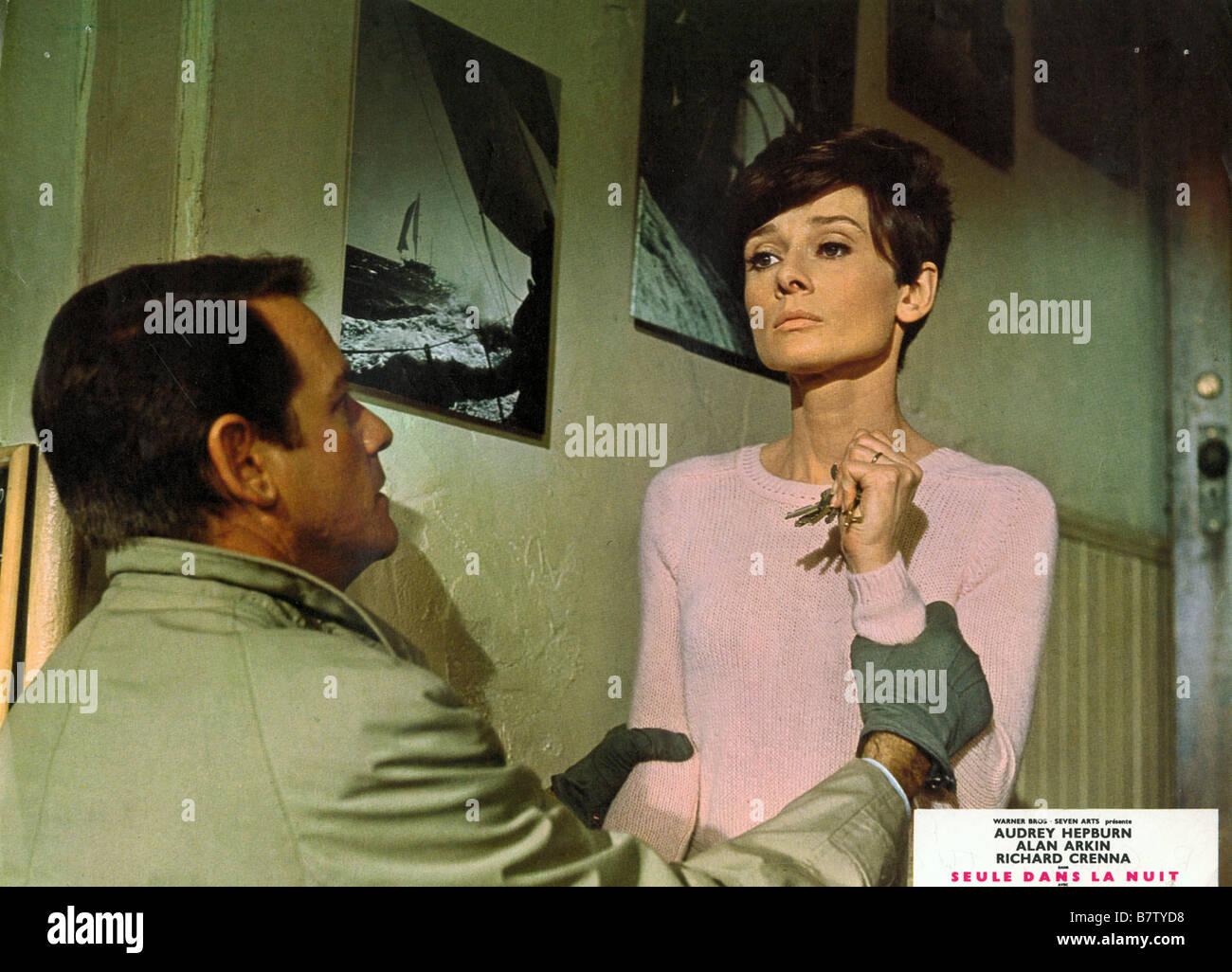 seule dans la nuit Wait Until Dark  Year: 1967 USA Audrey Hepburn, Richard Crenna  Director: Terence Young - Stock Image