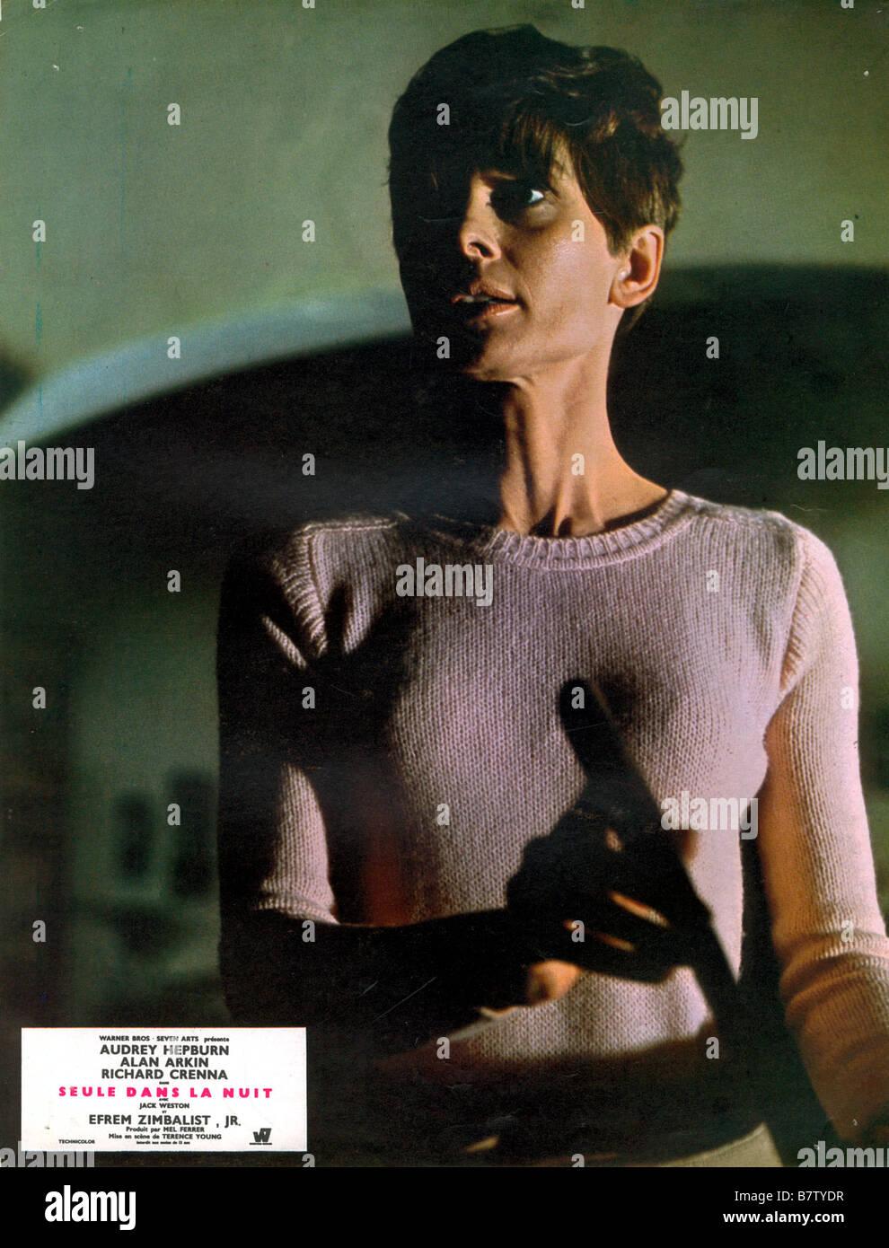 seule dans la nuit Wait Until Dark  Year: 1967 USA Audrey Hepburn  Director: Terence Young - Stock Image