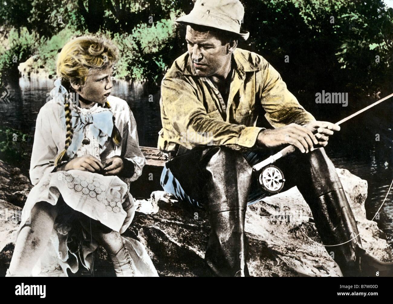 Pollyanna Pollyanna  Year: 1960 USA Hayley Mills, Richard Egan  Director: David Swift - Stock Image