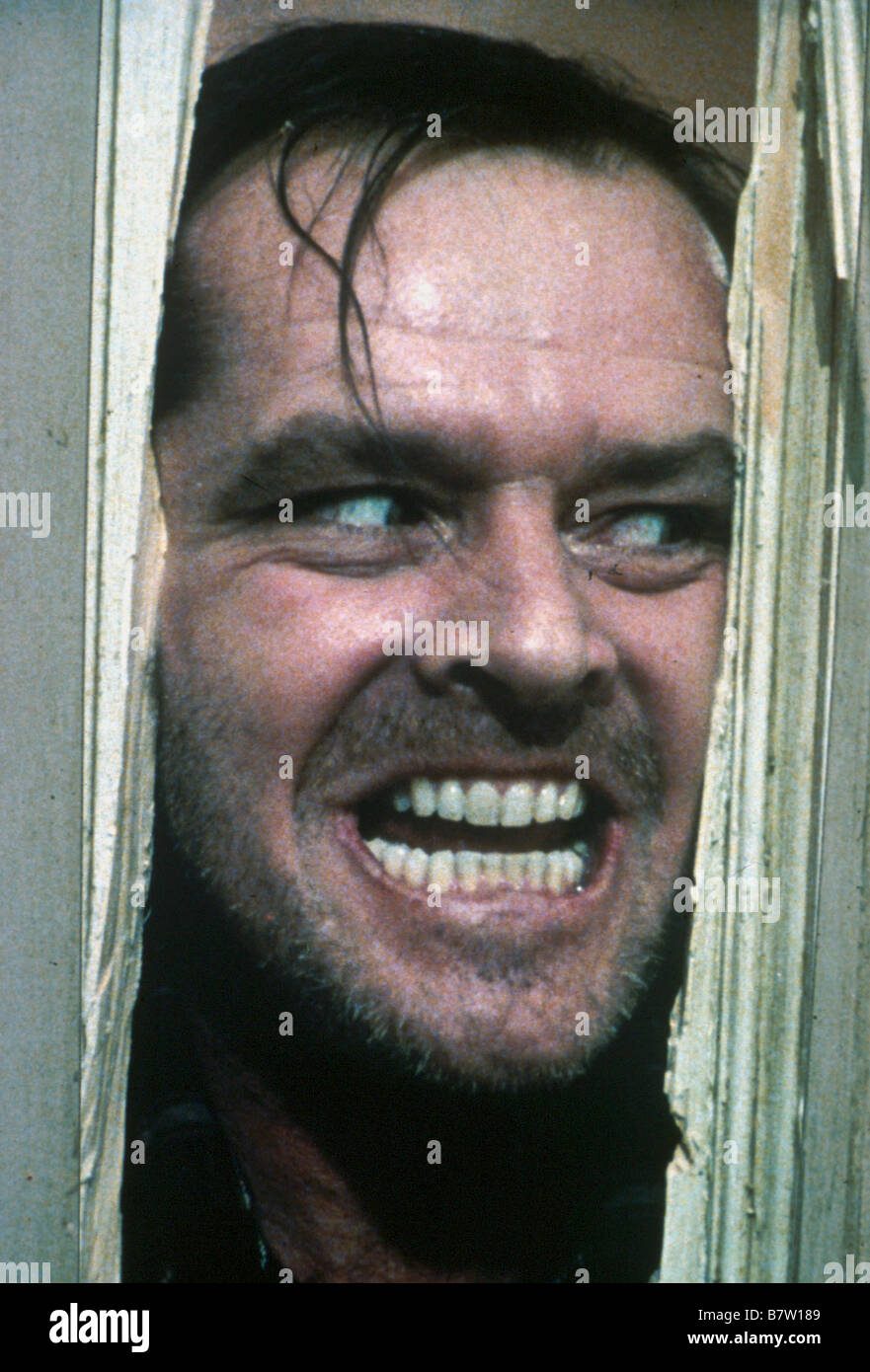The Shining Year: 1980 UK / USA Jack Nicholson  Director: Stanley Kubrick - Stock Image