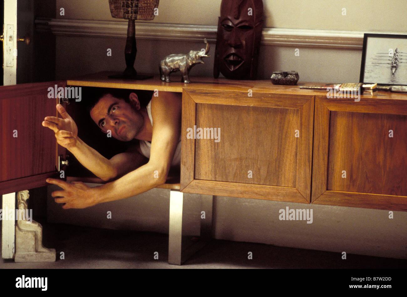 Johnny English  2003 UK Rowan Atkinson  Director: Peter Howitt - Stock Image