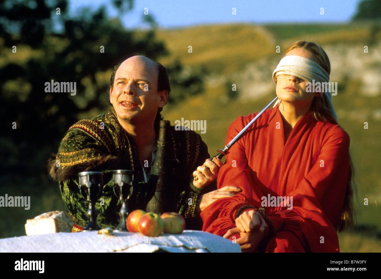 The Princess Bride  Year: 1987 USA Wallace Shawn, Robin Wright Penn  Director: Rob Reiner Stock Photo