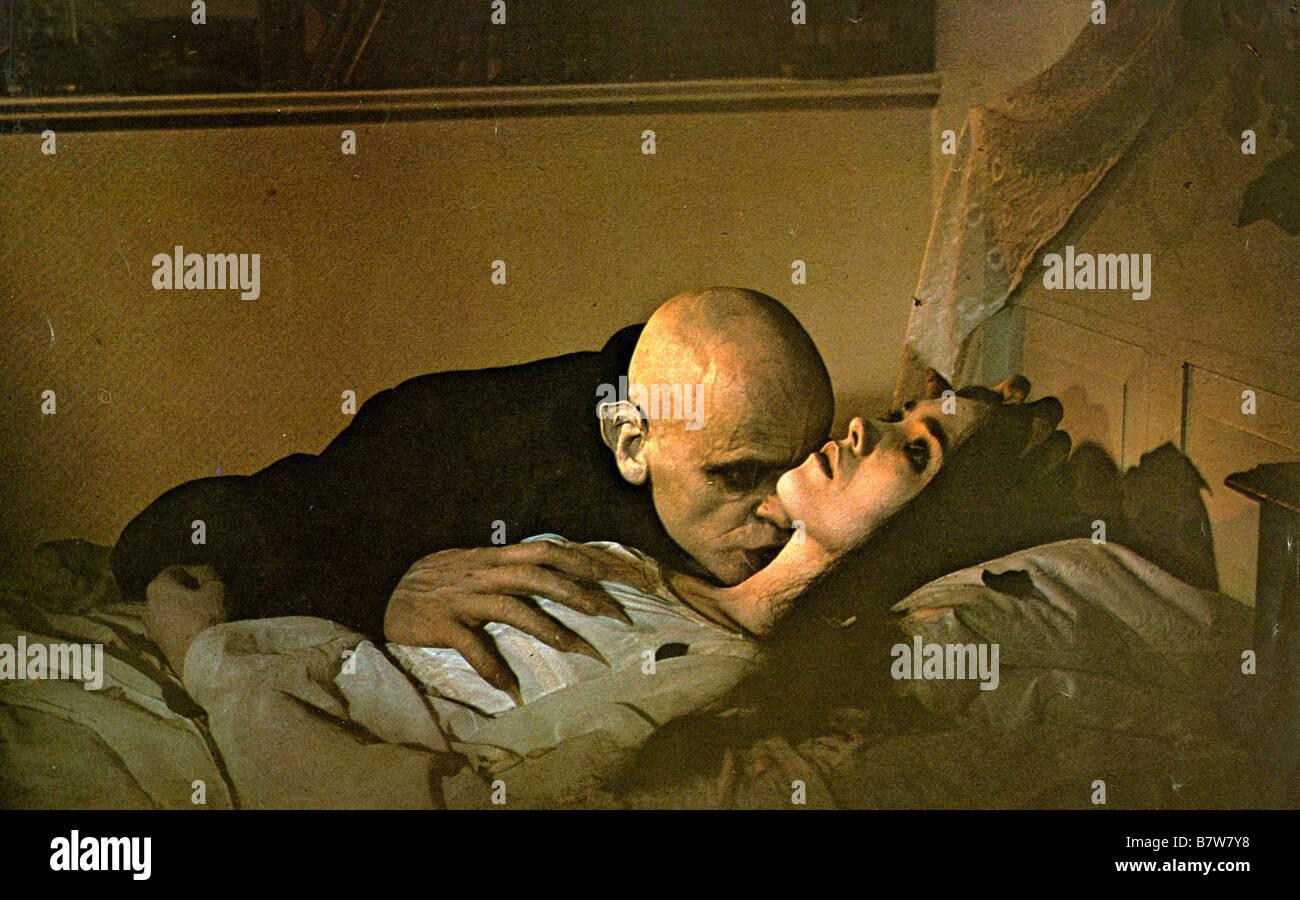 Nosferatu: Phantom der Nacht  Nosferatu the Vampyre Year: 1979 - West Germany Director : Werner Herzog Klaus Kinski, Isabelle Adjani Stock Photo