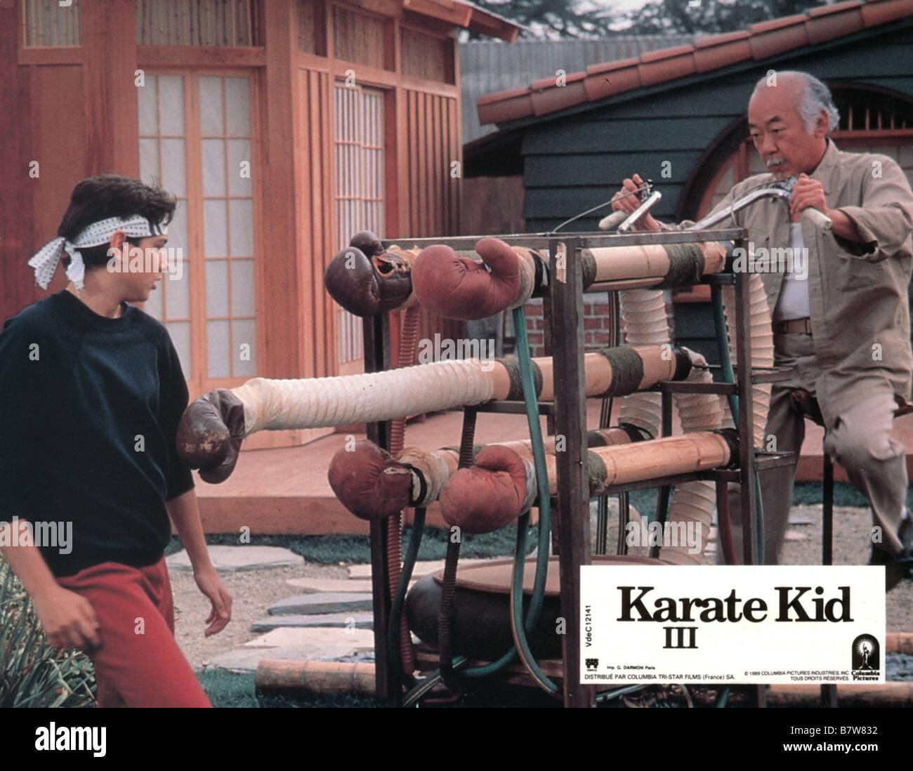The Karate Kid, Part III  Year: 1989 USA Ralph Macchio, Pat Morita  Director: John G. Avildsen - Stock Image