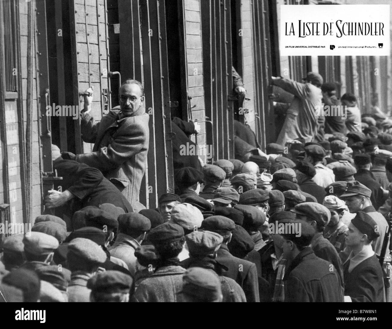 Schindler's List  Year: 1993 USA Ben Kingsley  Director: Steven Spielberg - Stock Image