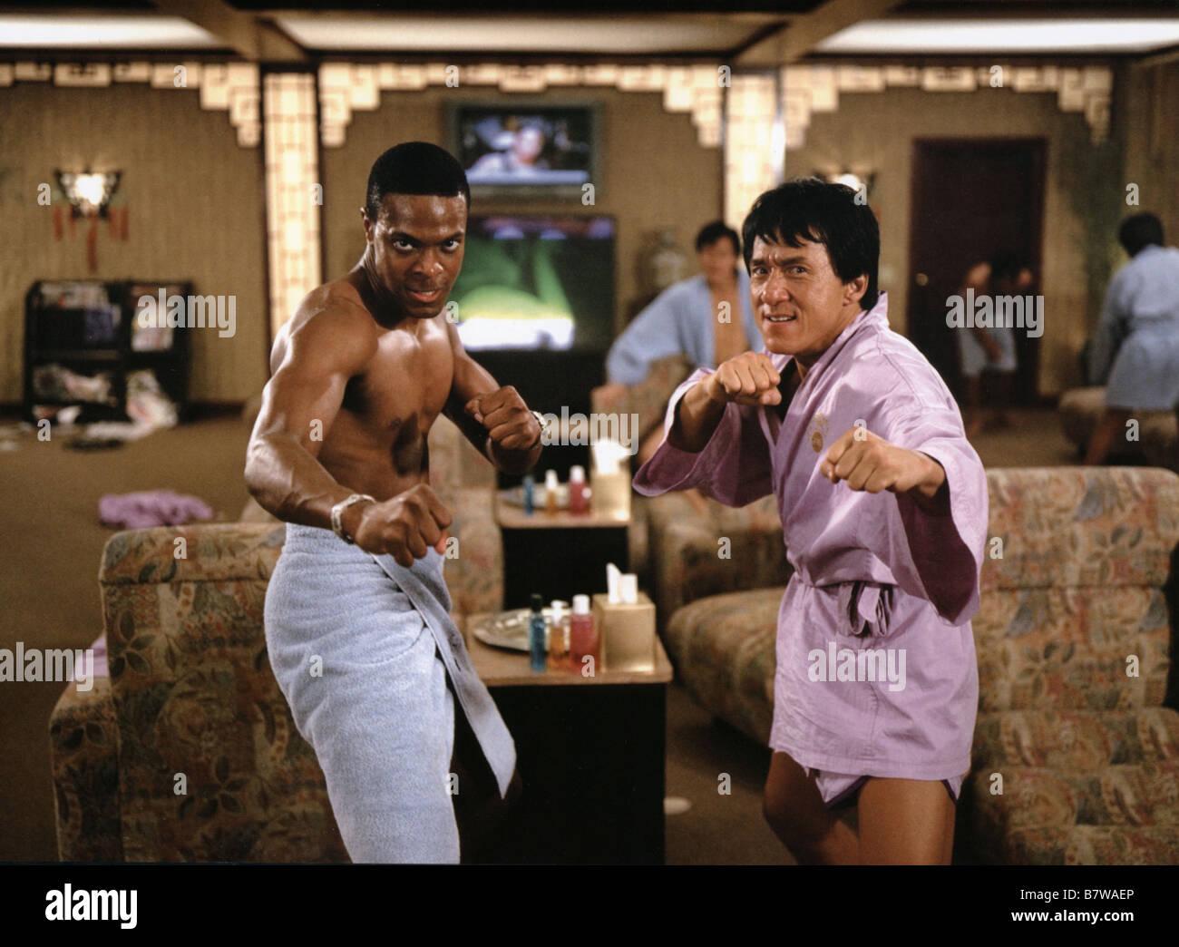 Rush Hour 2  Year: 2001 USA Jackie Chan, Chris Tucker  Director: Brett Ratner - Stock Image