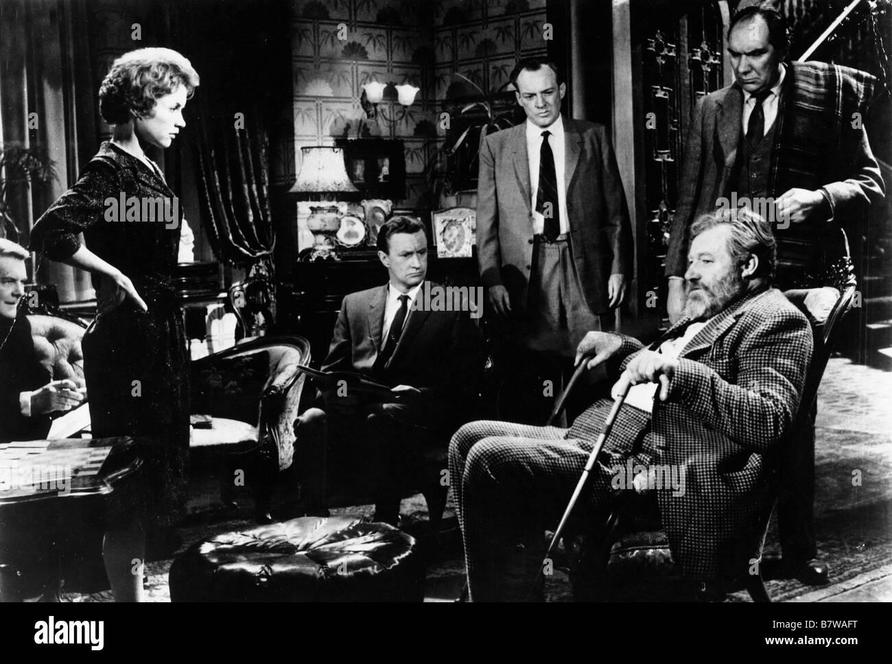 Murder She Said  Year: 1961  Director: George Pollock Muriel Pavlow, Conrad Phillips, Gerald Cross, Thorley Walters, - Stock Image