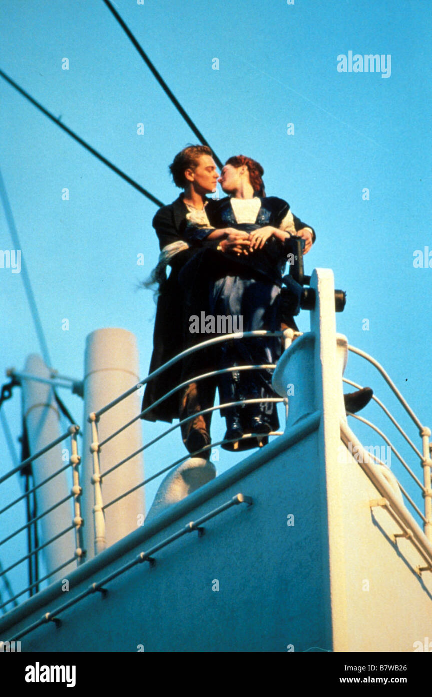 Titanic by James Cameron James Cameron Leonardo DiCaprio