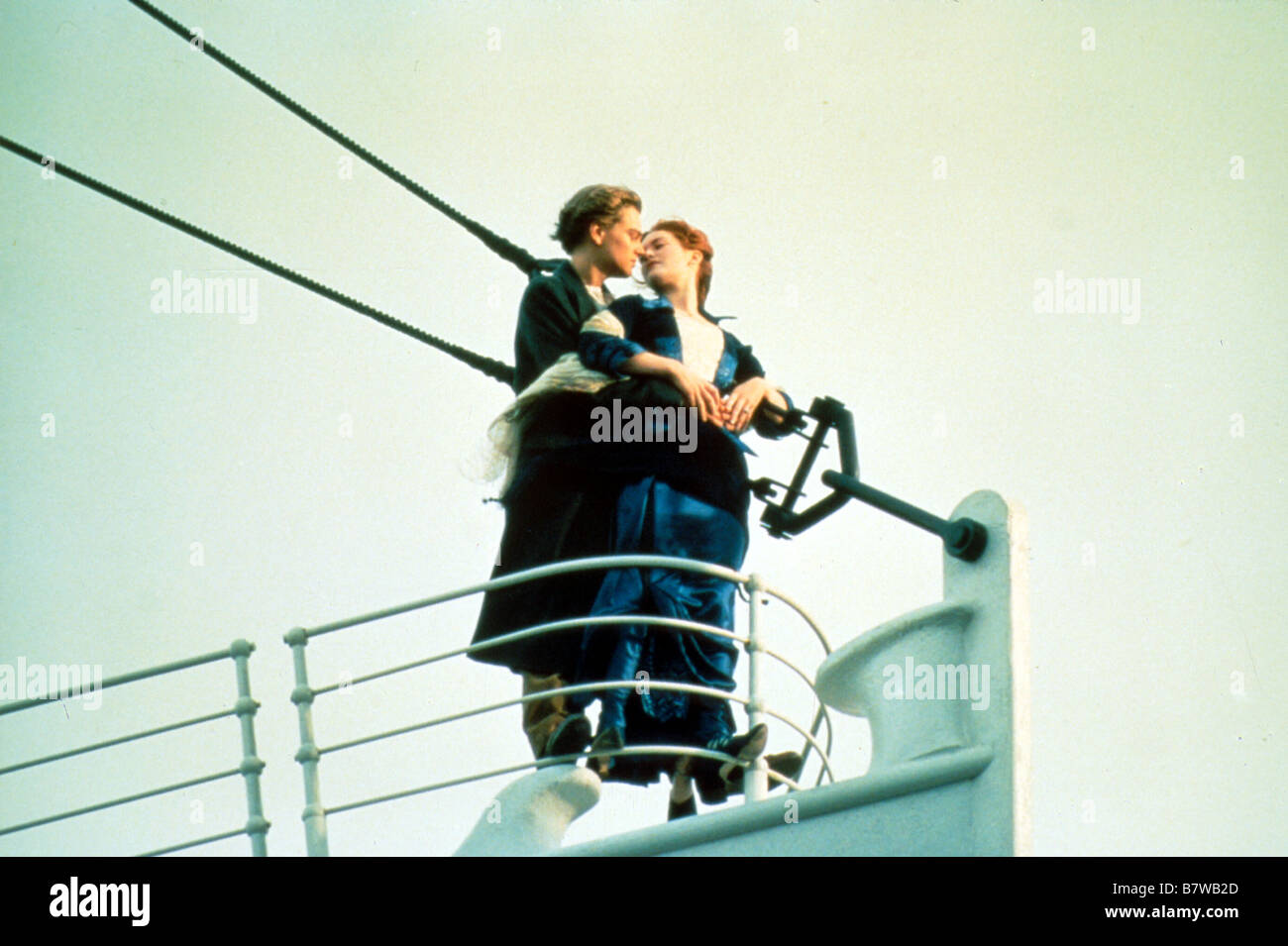 james cameron leonardo dicaprio titanic stock photos