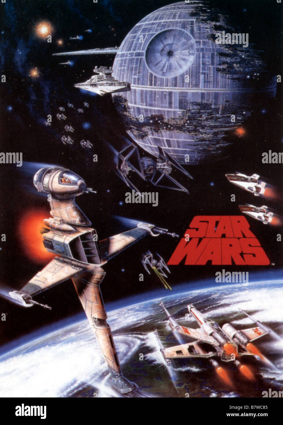 Star Wars Episode Iv A New Hope Year 1977 Usa Director George Stock Photo Alamy
