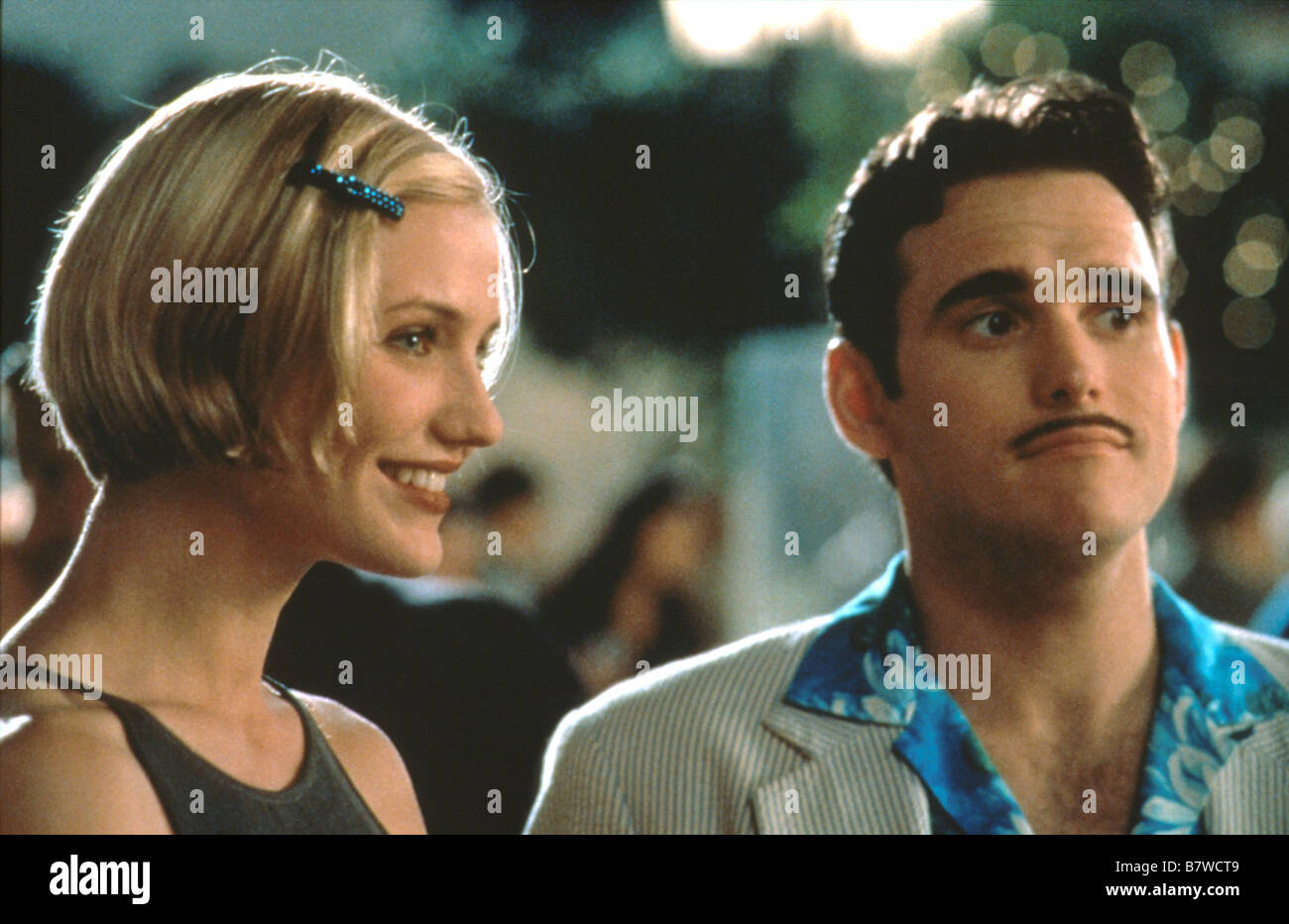There's Something About Mary  Year: 1998  USA Cameron Diaz, Matt Dillon  Director: Bobby Farrelly, Peter Farrelly - Stock Image