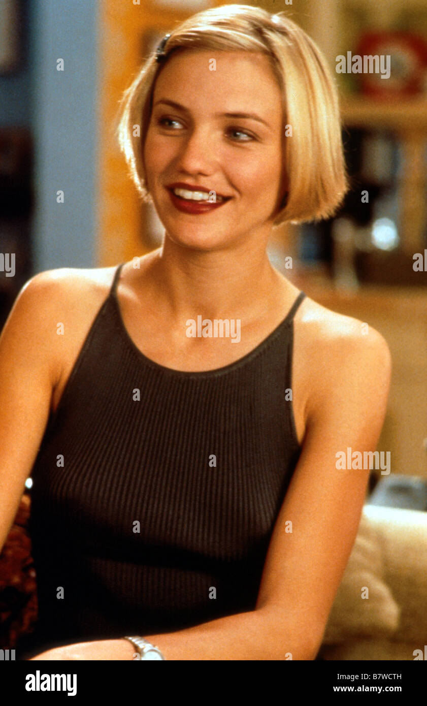 There's Something About Mary  Year: 1998  USA Cameron Diaz  Director: Bobby Farrelly, Peter Farrelly - Stock Image