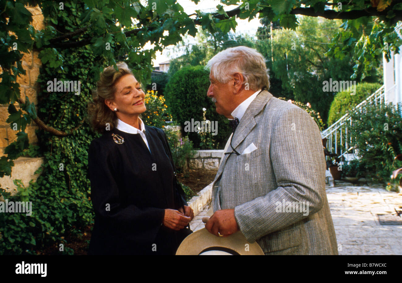 Appointment with Death  Year: 1988  Director: Michael Winner Lauren Bacall , Peter Ustinov,  Based upon Agatha Christie - Stock Image