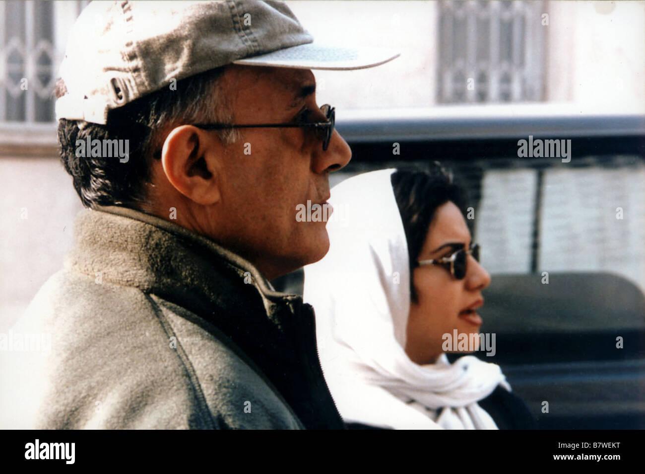 Ten Year: 2002 Iran Director: Abbas Kiarostami Abbas Kiarostami, Mania Akbari On the set - Stock Image