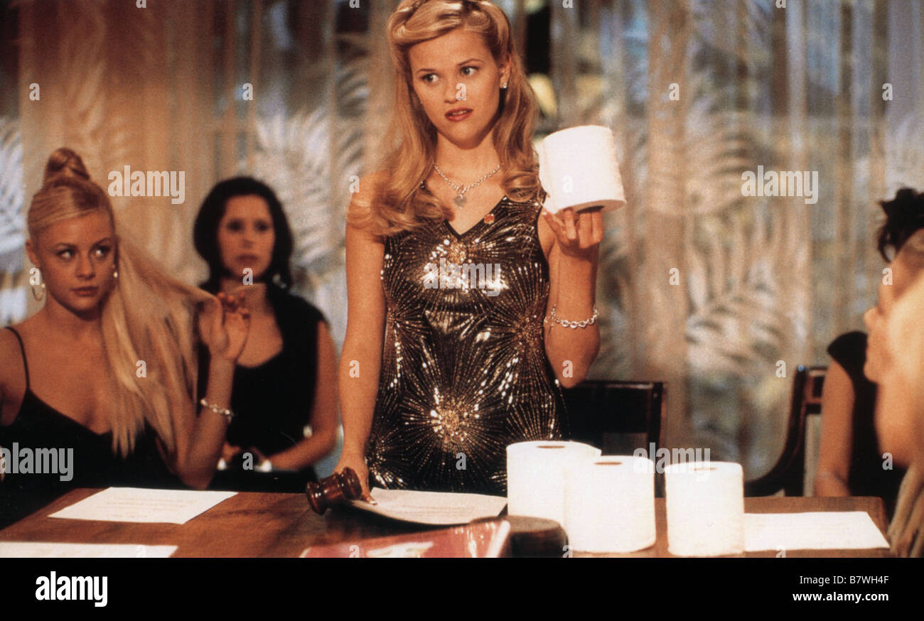 La Revanche d'une blonde Legally Blonde  Year: 2001 USA Reese Witherspoon  Director: Robert Luketic - Stock Image