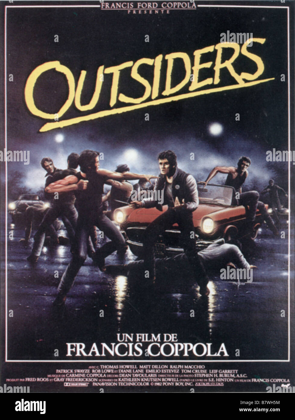 the outsiders movie stock photos the outsiders movie stock images