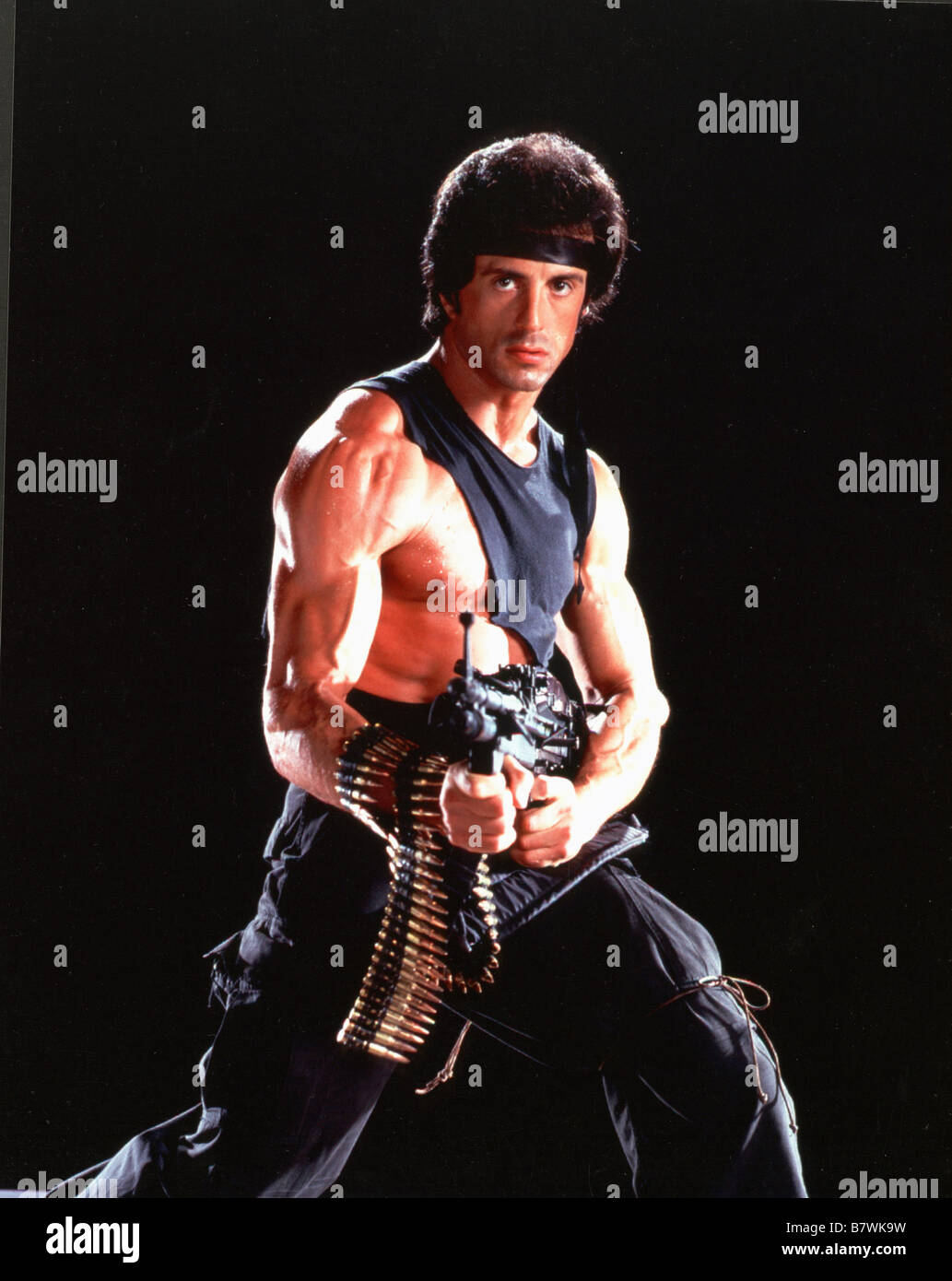 Rambo: First Blood Part 2  Year: 1985 USA Director: George P. Cosmatos Sylvester Stallone - Stock Image