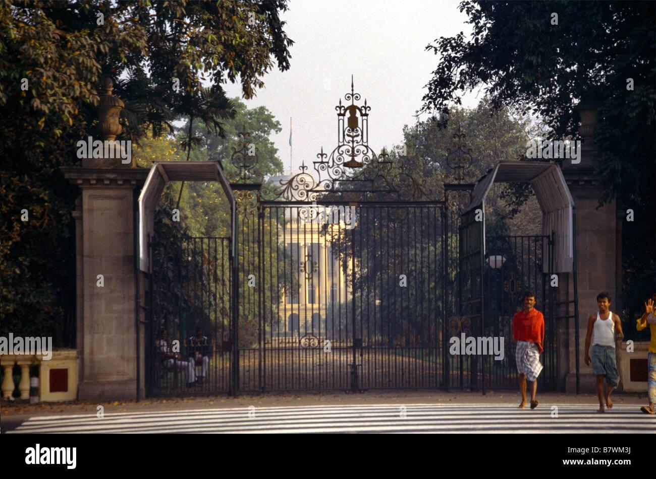 Kolkata India Raj Bhaven Former Parliament Building - Stock Image