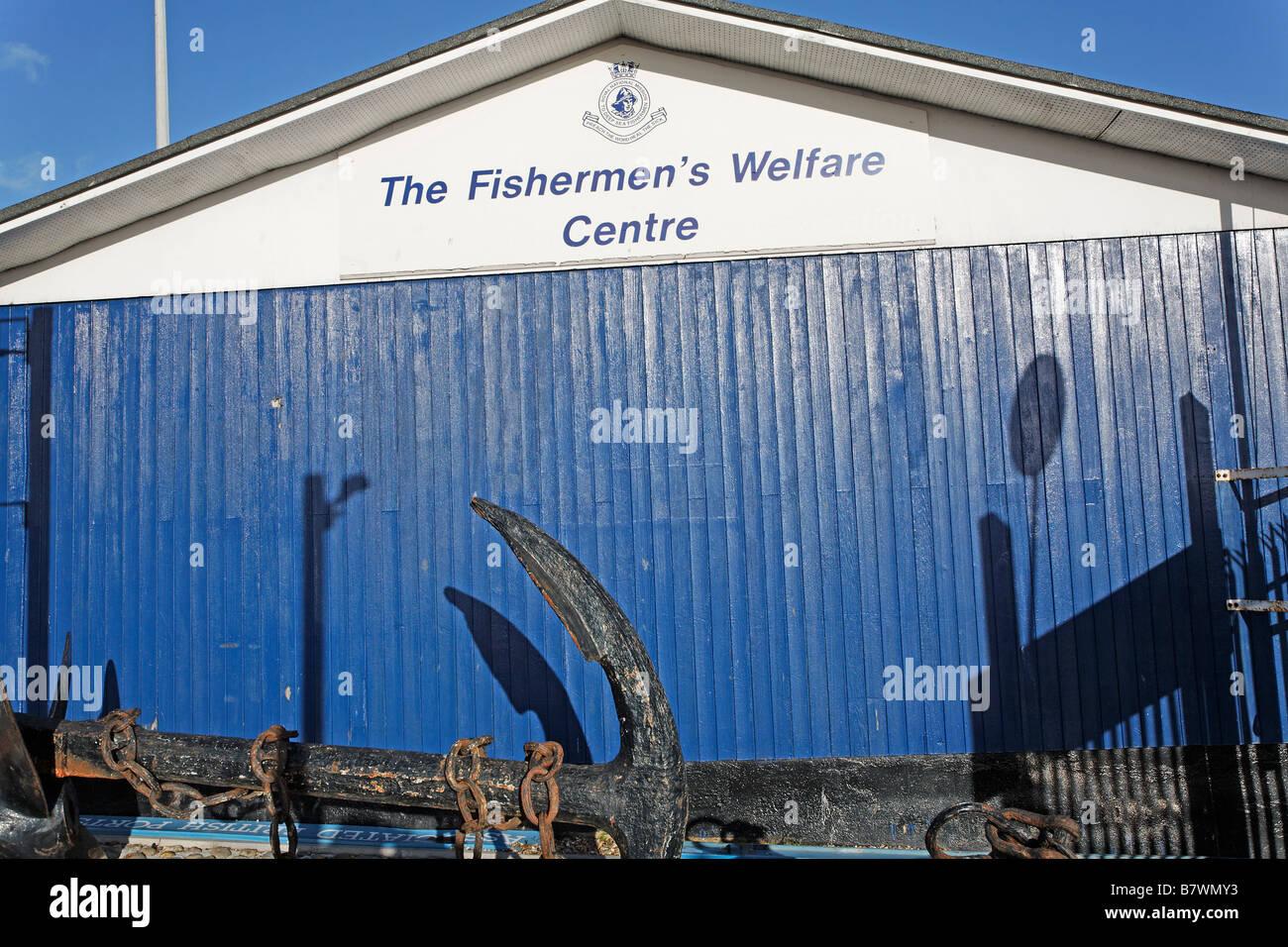 The Fishermen s Welfare Centre Lowestoft Suffolk England - Stock Image