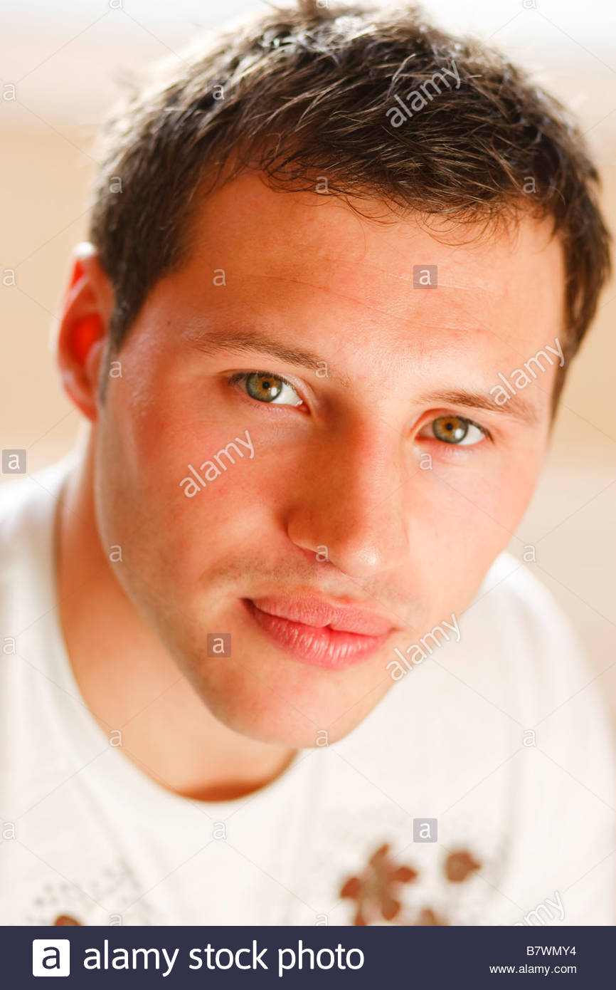 Male portrait - Stock Image
