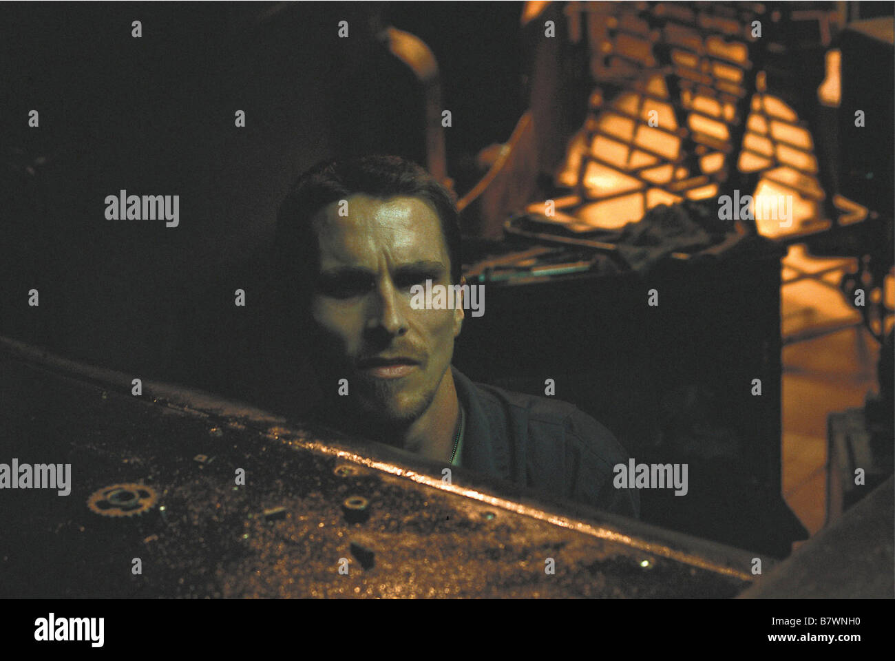 El Maquinista The Machinist Year: 2004 Spain Director: Brad Anderson Christian Bale - Stock Image