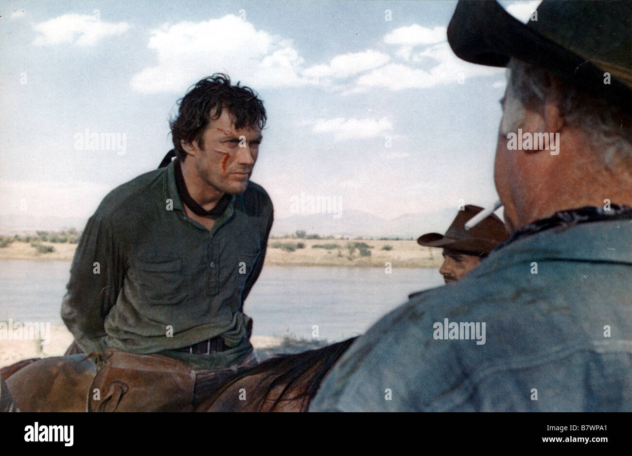 Hang 'Em High Year: 1968 Clint Eastwood  Director: Ted Post - Stock Image