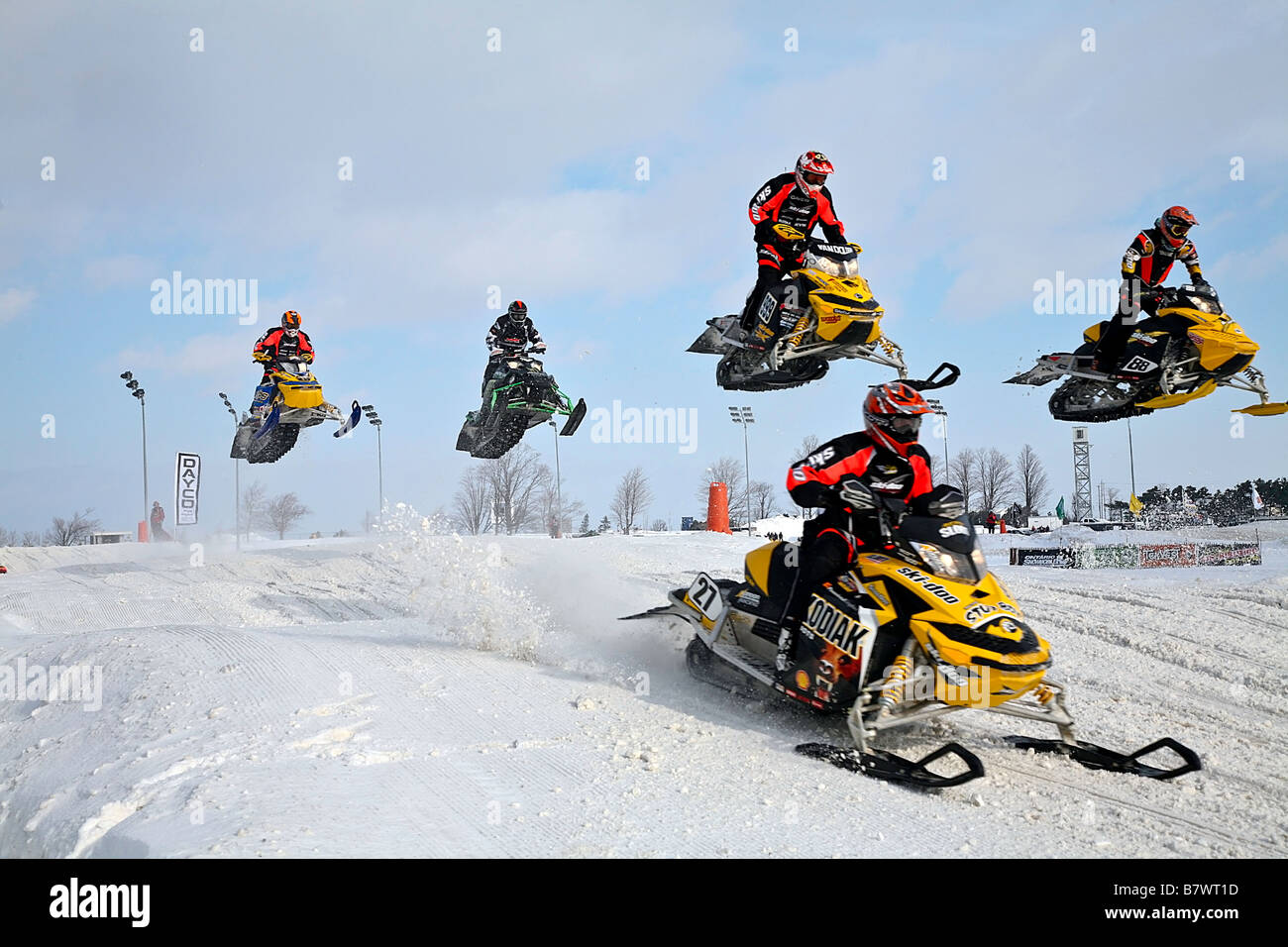 nouveau produit 7851f a0b1b Championship Snowcross or Snowmobile race in Ontario Canada ...