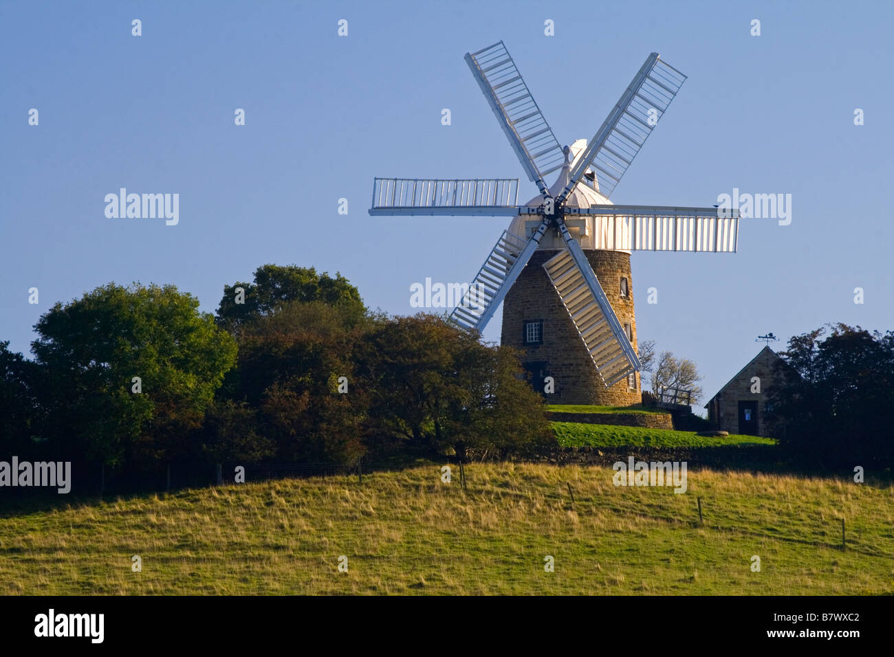 Heage Windmill in the Amber Valley Derbyshire England UK Stock Photo