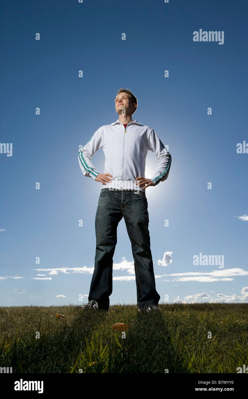 Standing tall - Stock Image