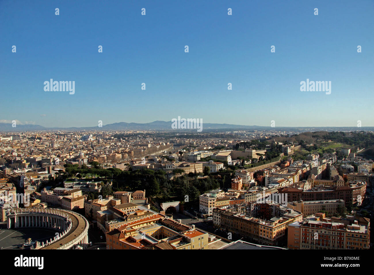 d156afbb6990e6 View from top of Vatican City museum