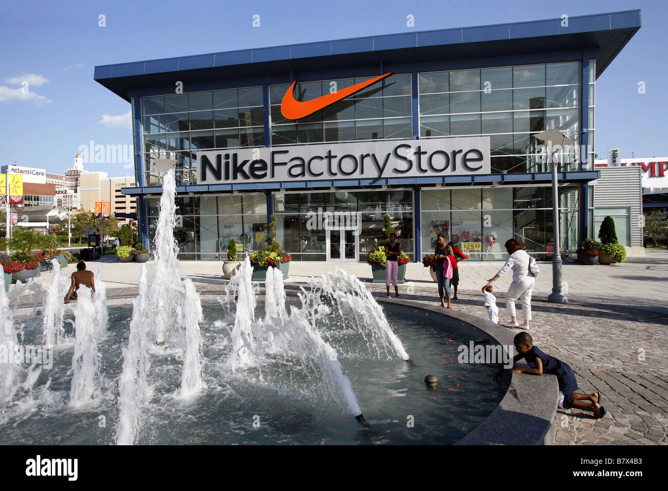 Nike Factory Store, Atlantic City, New Jersey, USA Stock Photo ...