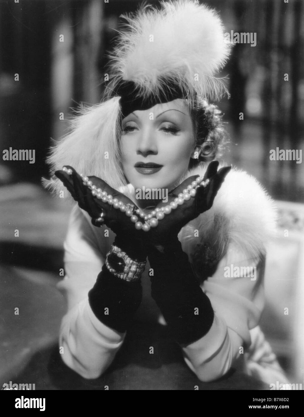 Desire  Year: 1936 USA Marlene Dietrich  Director: Frank Borzage - Stock Image