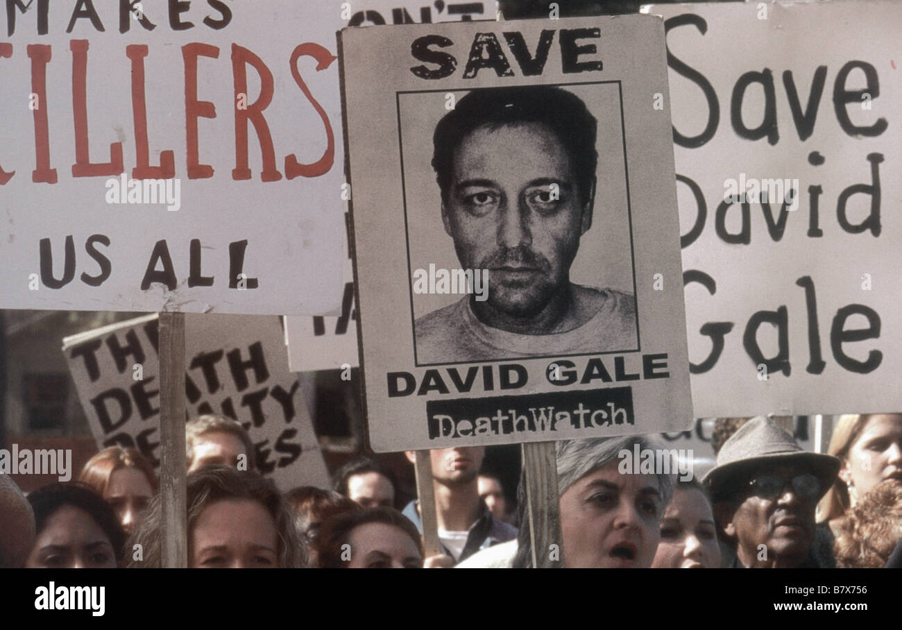 The Life of David Gale   Year: 2003  USA Kevin Spacey  Director: Alan Parker - Stock Image
