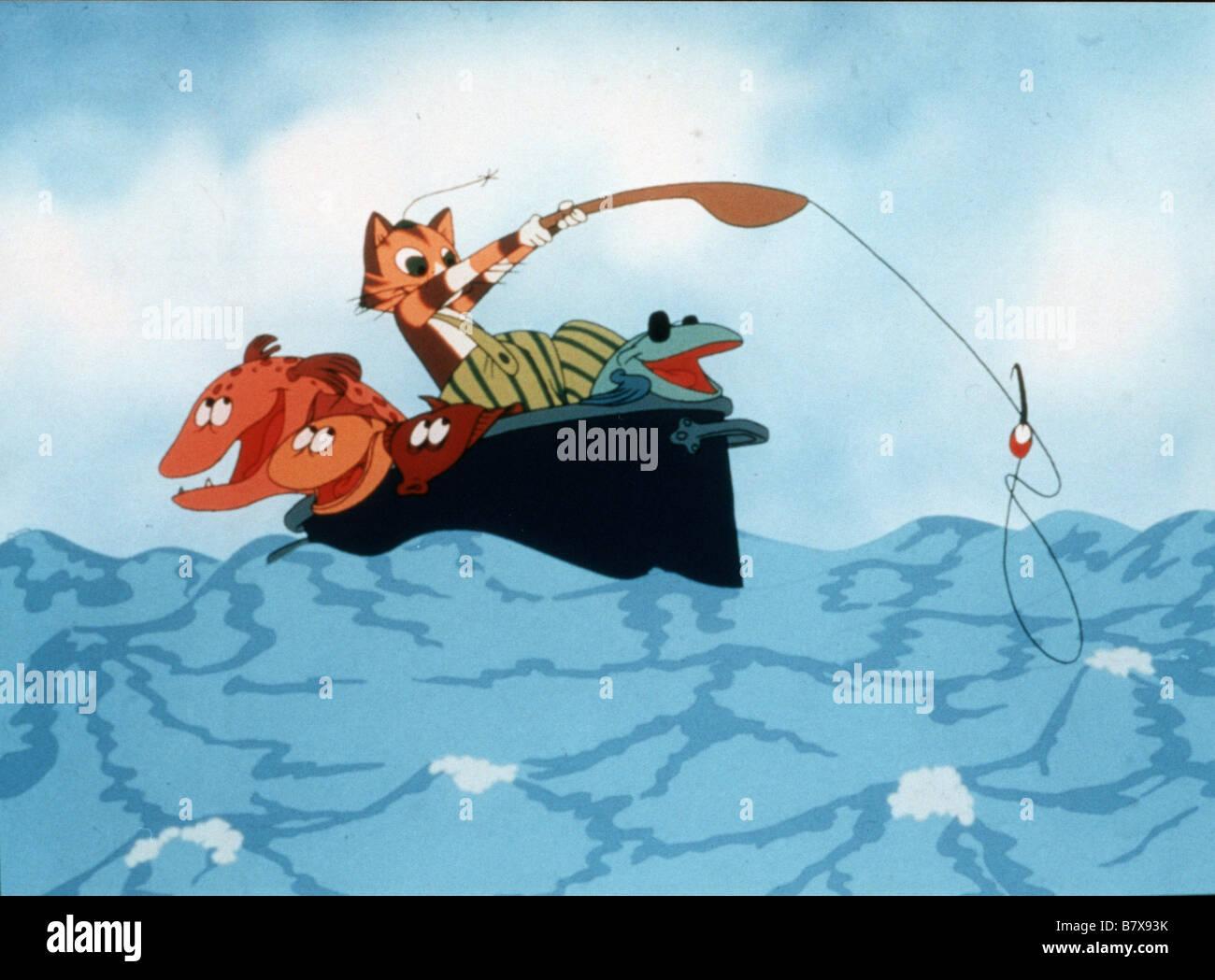 Pettson et Picpus Pettson och Findus, Kattonauten  Year: 2000 - Sweden Animation  Director: Albert Hanan Kaminski - Stock Image