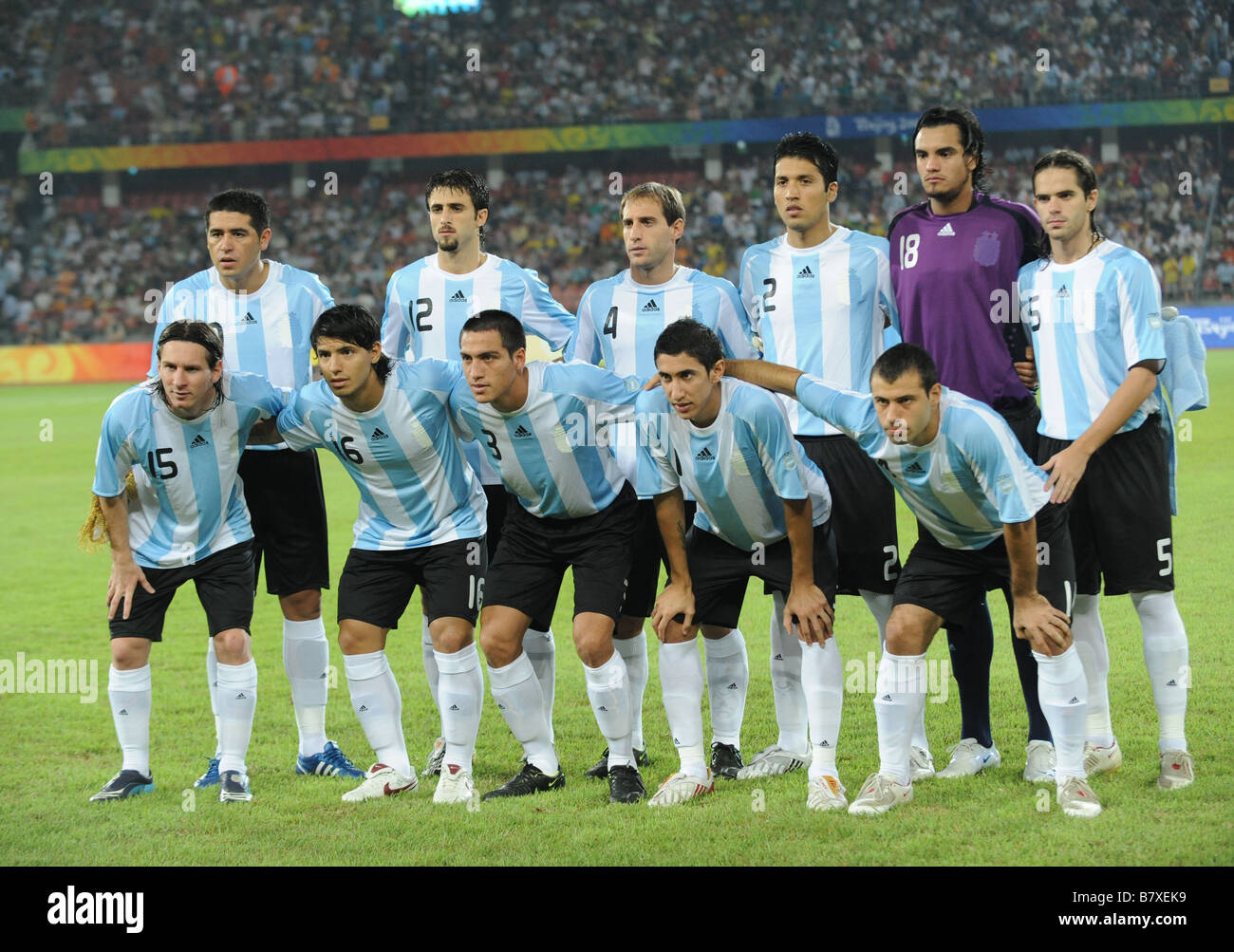 2008 Olympics Football Teams