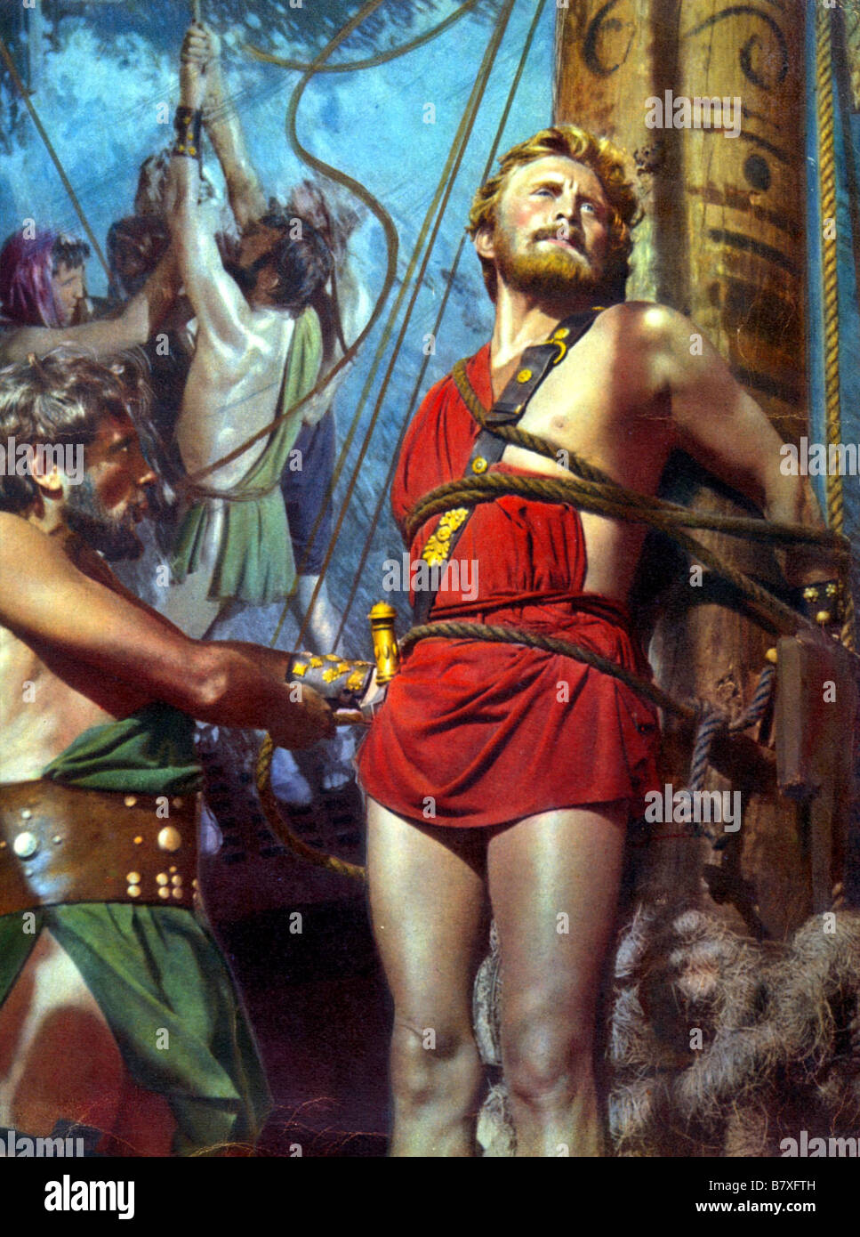 Ulysses Ulisse Year: 1954  Italy / USA Kirk Douglas  Director: Mario Camerini - Stock Image