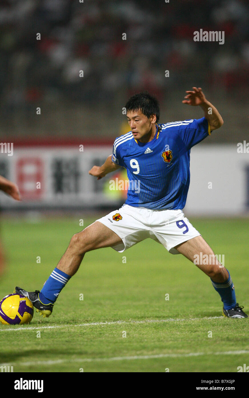 Daisuke Matsui JPN SEPTEMBER 6 2008 Football 2010 FIFA World Cup Asian Final Round of Qualifiers between Bahrain - Stock Image