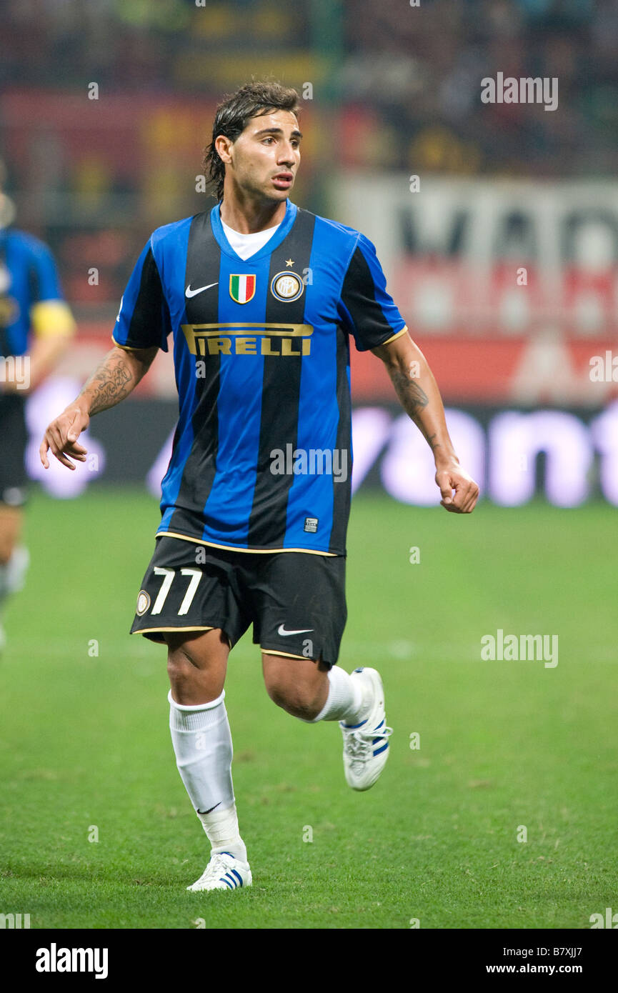 Ricardo Quaresma Inter SEPTEMBER 28 2008 Football Italian Serie A match  between AC Milan and Inter 8ef125930b8a4