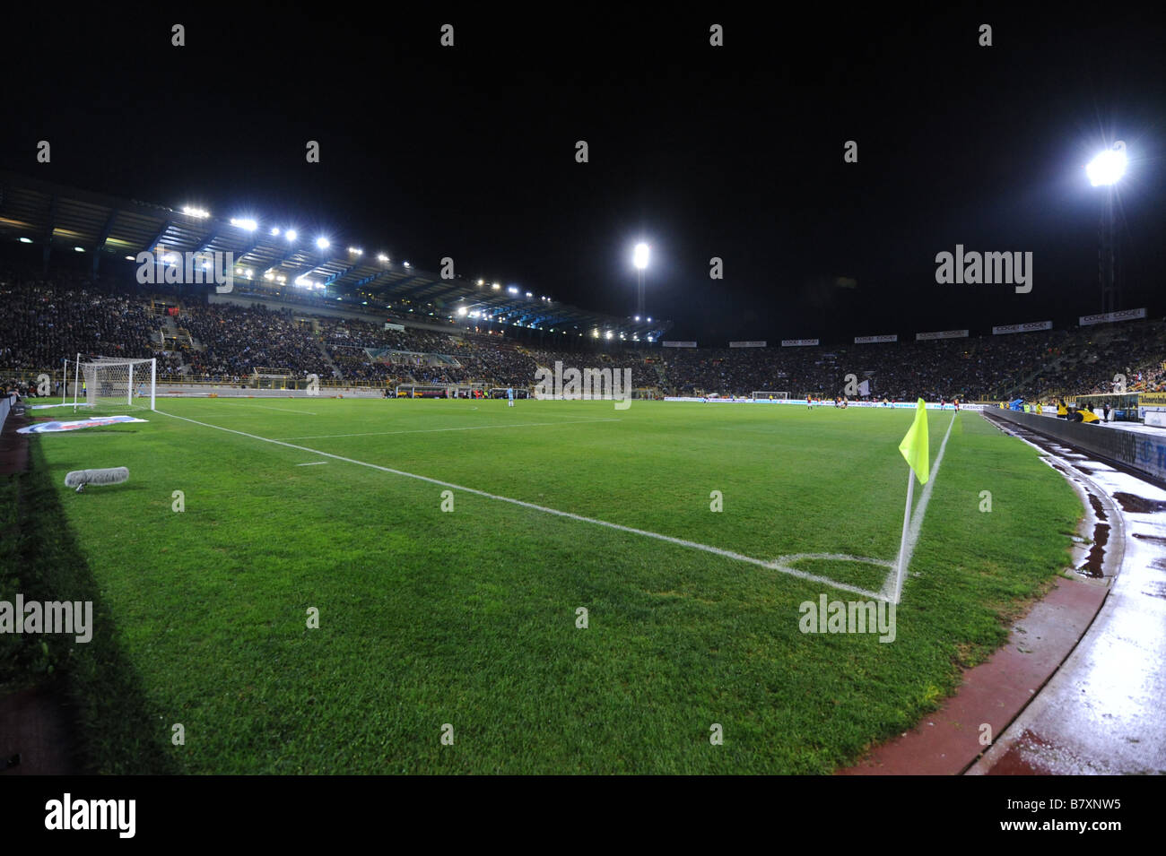 General view OCTOBER 29 2008 Football Italian Serie A match between Bologna and Juventus at Renato Dall ara Stadium - Stock Image