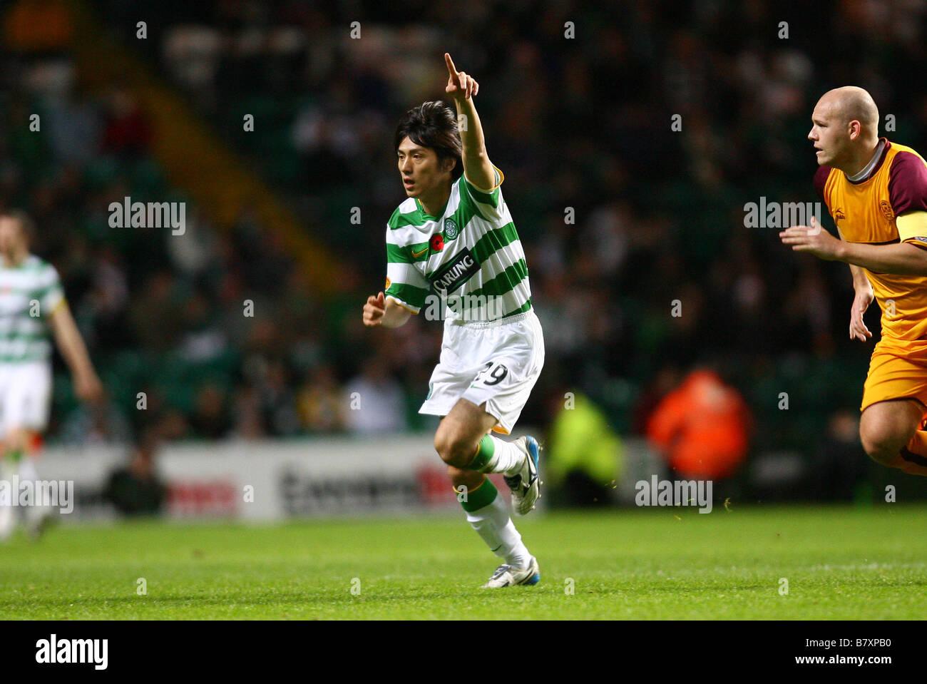 Koki Mizuno Celtic NOVEMBER 8 2008 Football Scottish Premier