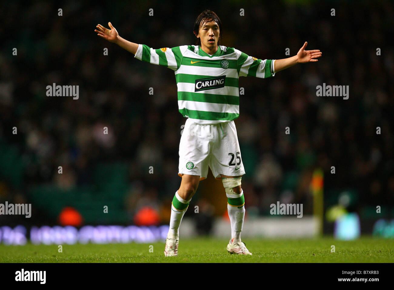 brand new 9e800 0fdf3 Shunsuke Nakamura Celtic NOVEMBER 12 2008 Football Scottish ...