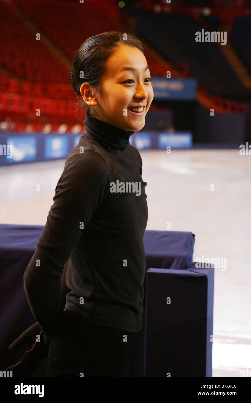 Mao Asada Stock Photos Images Alamy Baby Music Cellular Phone Jpn November 13 2008 Figure Skating Isu Grand Prix Of 2009