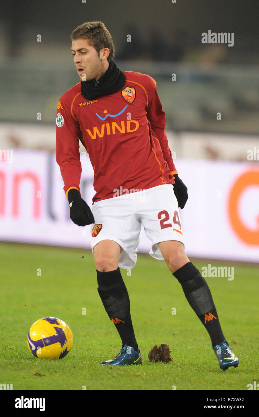 jeremy menez roma december 6 2008 football italian serie a match stock photo 22103398 alamy. Black Bedroom Furniture Sets. Home Design Ideas