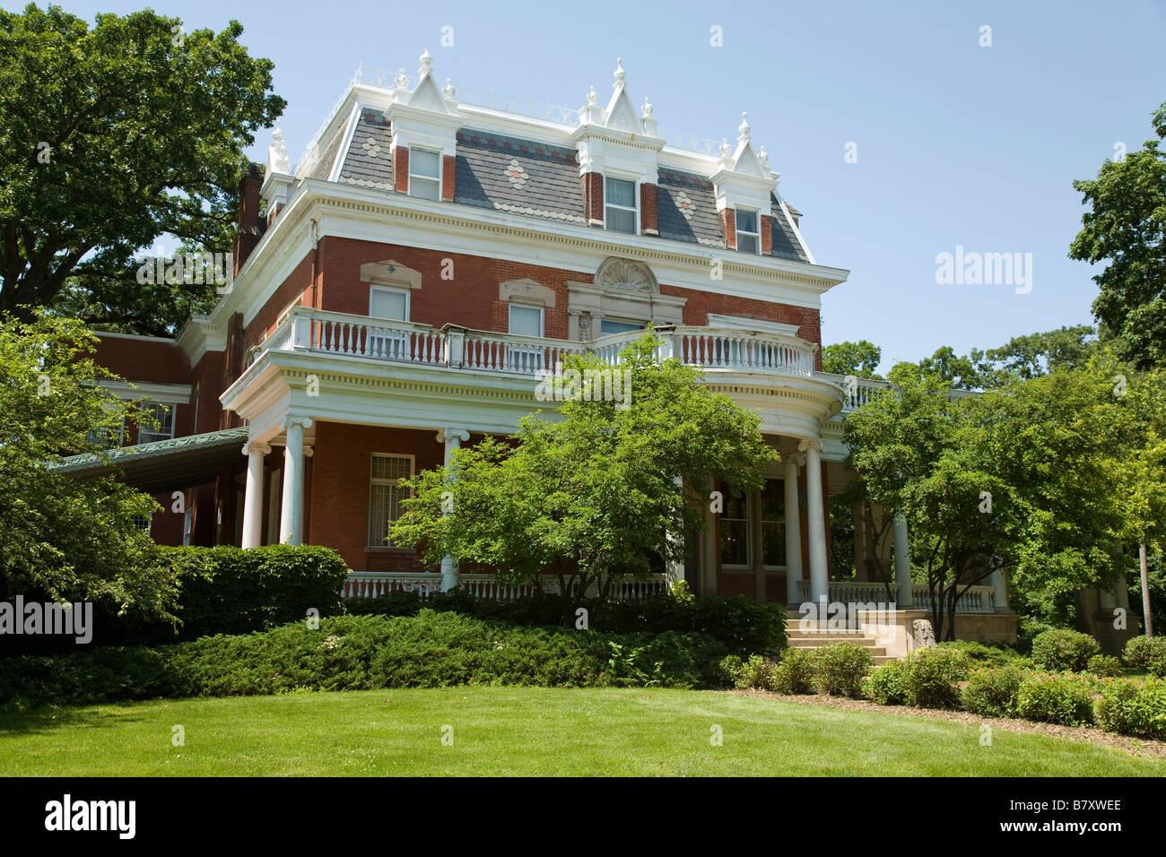 Fantastic Illinois Dekalb Exterior Of Ellwood House And Museum Built Download Free Architecture Designs Sospemadebymaigaardcom