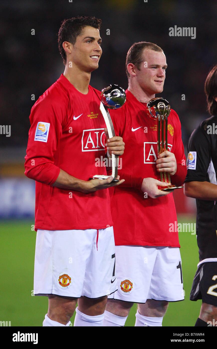 Wayne Rooney And Cristiano Ronaldo Stock Photos Wayne Rooney And