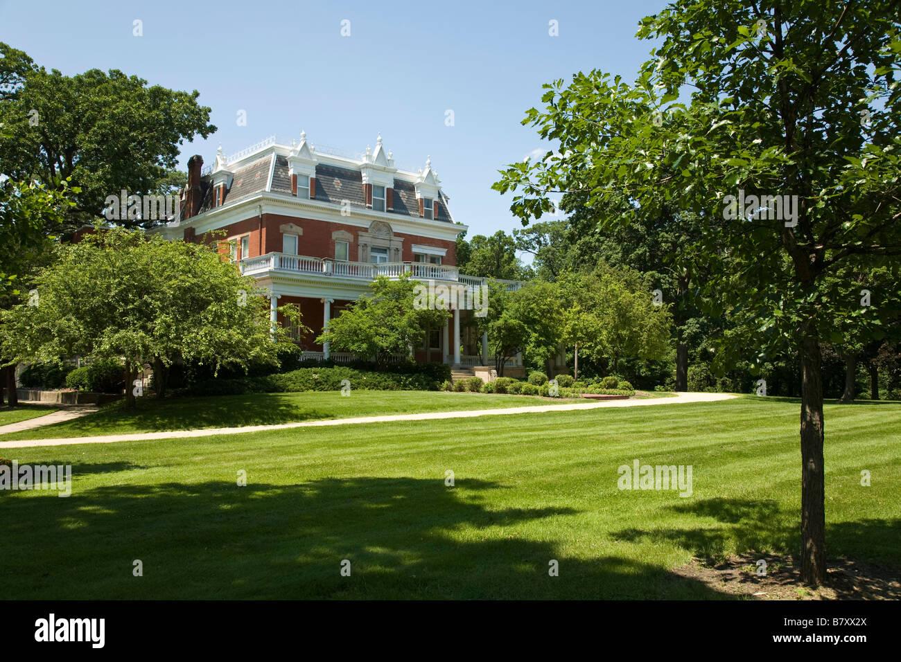 Incredible Illinois Dekalb Exterior Of Ellwood House And Museum Built Download Free Architecture Designs Sospemadebymaigaardcom